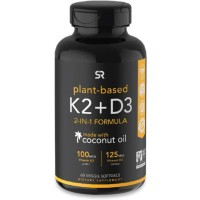Sports Sport Research Vitamin K2 D3 - Isi 60 Suplemen Tulang Immune