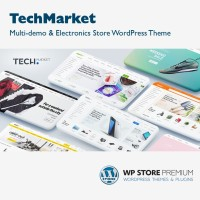 TechMarket - Multi-demo & Electronics Store Template Wordpress Theme