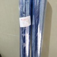 plastik mika roll pvc lentur 0.25a taplak meja bening transparan