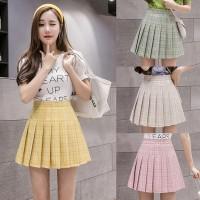 (#702)Tennis Skirt/Korean Pleated Skirt/Mini Skirt/Rok Lipit/RokPendek