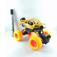 Mainan Monster Stunt 4WD Of Road Vehicle Series Rs6665E Kuning