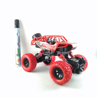 Mainan Monster Stunt 4WD Of Road Vehicle Series Rs6665E Merah