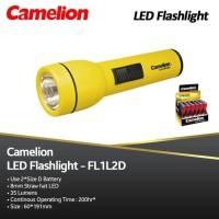 SENTER LED CAMELION FL1L2XBATERAI D|FREE 2 PCS BATERAI CAMELION SIZE D