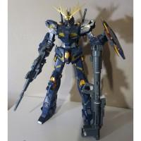 Bandai MG 1/100 Gundam Unicorn Banshee ver.ka (rakit)