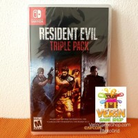 Switch Resident Evil Triple Pack (Resident Evil 4, 5, & 6)