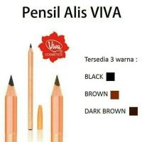 VIVA QUEEN PENSIL ALIS 100% ORIGINAL ( BROWN / DARKBROWN / BLACK )