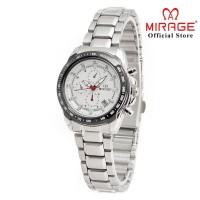 Jam Tangan Wanita TERLARIS MIRAGE 8305L Silver pP