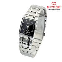 Jam Tangan Mirage Wanita segi silver 7908L pH