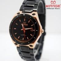 Mirage Jam Tangan Wanita 7569L Black/RoseGold