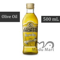 FILIPPO BERIO Olive Oil Pure 500ml - FB Italy Minyak Zaitun Murni 1/2L
