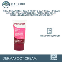 Dermafoot Cream - Krim Perawatan Tumit Kering dan Pecah Pecah