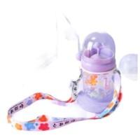 TALI + Botol Minum Anak Childrens Pot Karakter Ikan Paus Spray Sedotan