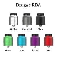 DRUGA 2 RDA 24MM V2 AUTHENTIC BY AUGVAPE FOR ATOMIZER VAPORIZER VAPE