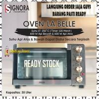 SIGNORA OVEN LA BELLE KAPASITAS 35 LITER OVEN LISTRIK + BONUS