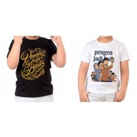 Kaos PJB ANAK Merchandise Pengen Jadi Baik