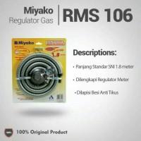 Miyako Selang Gas Regulator Paket Meteran RMS -106 M