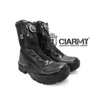 Sepatu PDL Tali Putar Merk Ciarmy Type C-099 Garansi Sol 5 Tahun - 39