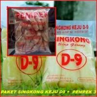 Paket Singkong Keju D9 + Pempek Palembang 3 by Warung Qampung Semarang