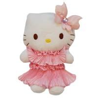 Boneka Hello Kitty Sanrio PLUSH FLOWER Original Lisensi