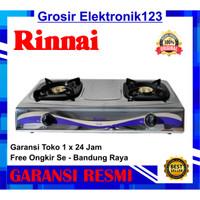 Kompor Gas Rinnai Dua Tungku RI - 522 E/C - khusus bandung