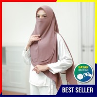 Cadar Hijab Tali /Niqob Bahan Cerutty Babydoll Premium Nyaman Dipakai