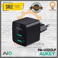 Aukey Mini Adapter Wall Charger 2 Port USB Ai Power alt Anker
