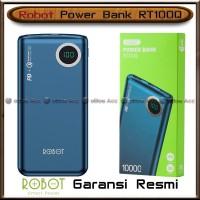 Power Bank Robot 10000 mAh LED Display RT100Q Dual Output PowerBank