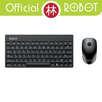 Robot KM3000 Portable Mini Wireless Keyboard & Mouse Combo