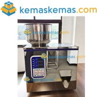 Mesin Filling Granule / Automatic Weighing Powder Filling Machine 80gr