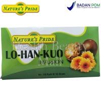 Nature's Pride LO HAN KUO Infusion 12 Pack - Obat Batuk - LO-HAN-KUO
