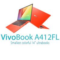 Laptop ASUS A412FL Core i3 4GB SSD-512GB VGA MX250 14FullHD W10 Resmi