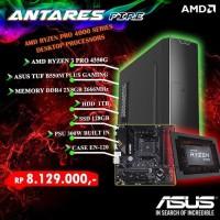 PC BUILD UP ANTARES FIRE RYZEN 3 PRO 4350G