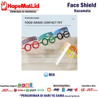 Face Shield Kacamata Anak Pelindung Wajah Safety Face Shield