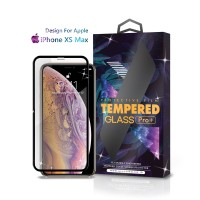 Tempered Glass Iphone XS MAX Full Cover Black -Premium Glass Pro