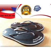 Sandal Jepit Karet Swallow Online Slip On Loafers - 9 Ungu
