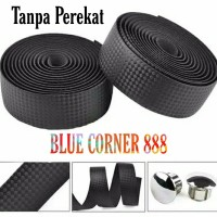 2 Roll Bartape Black Sepeda Balap Fixie with Perekat