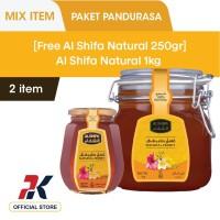 [Free Al Shifa Natural 250gr] Al Shifa Natural 1kg