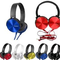headphone Sony mdr XB450ap extra bass headset handsfree earphone