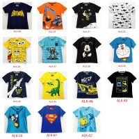 Baju Atasan Anak Laki Laki Karakter 1-6 Tahun New