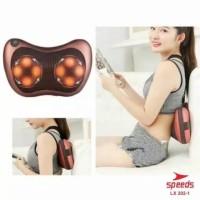Bantal pijat leher punggung massage portable speeds penghilang pegal