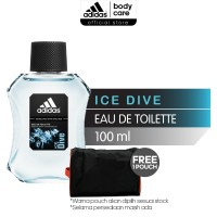 ADIDAS Ice Dive Eau De Toilette 100ml