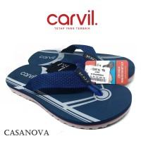 Sendal Pria Carvil Original Anti Air - Sandal Carvil Pria Casanova