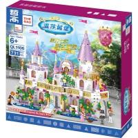 Brick ZheGao QL1106 the Main Castle Royal Princess Cinderella Lego