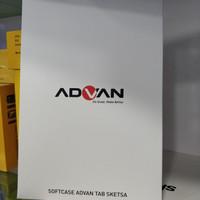 Flip Case dan Stylus Advan Sketsa Original