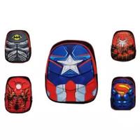 Tas Ransel Tas Sekolah Anak 3D Timbul Superhero Avengers