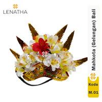 Mahkota Tari Bali Pakaian Adat Bali Hiasan Kepala Lenatha