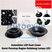 Autovision LED Dust Cover Karet Pelindung Tutup Belakang Lampu Mobil