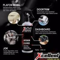 Cairan PEMBERSIH MOBIL Xcellent interior cleaner excelent original