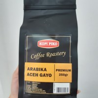 KOPI BIJI ARABIKA ACEH GAYO ROASTED BEANS COFFEE 250 GR Kopi PIKO