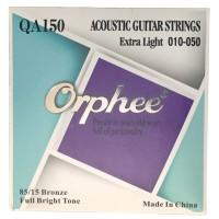 1 Set Senar Gitar Orphee Akustik / Acoustic QA150 Original Size 10